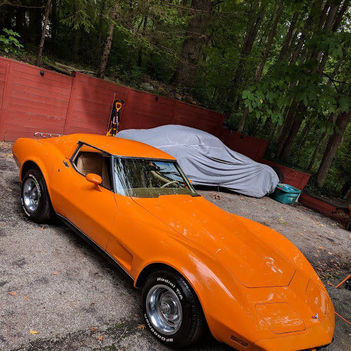 1977 Chevrolet Corvette (Orange/Saddle Tan)