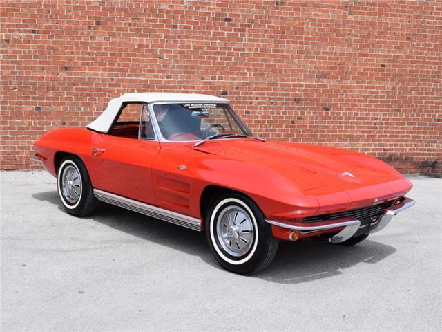 1964 Chevrolet Corvette (Red/Red)