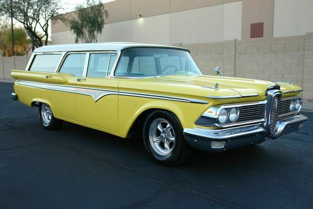 1959 Edsel Villager (Yellow/Tan)