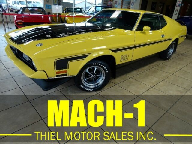 1971 Ford Mustang (Yellow/Black)