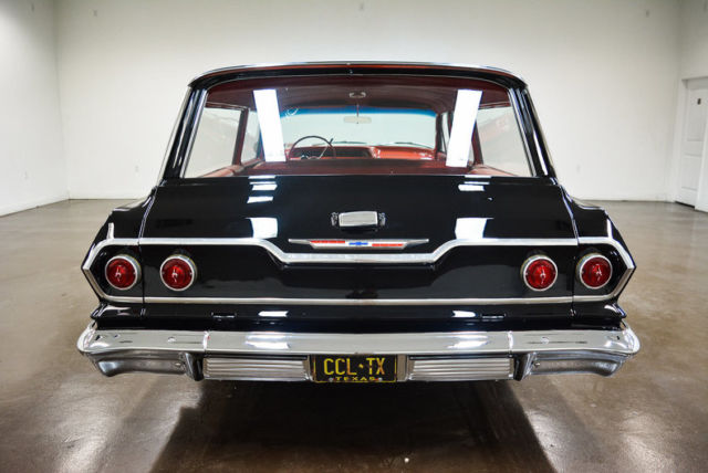 1963 Chevrolet Bel Air/150/210 (Black/Red)