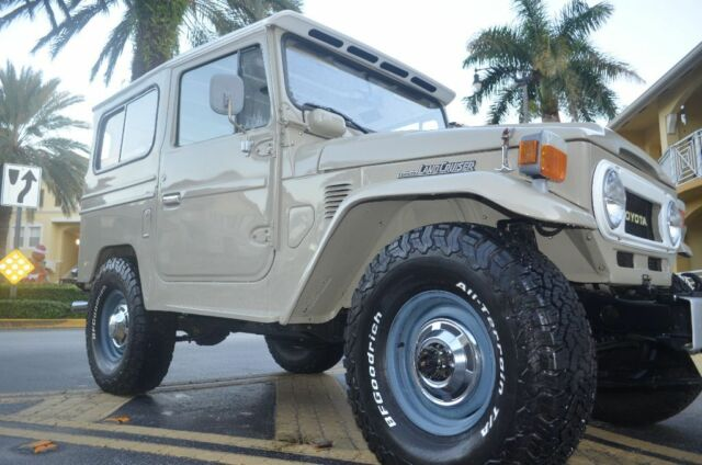 1979 Toyota Land Cruiser (Beige/Black)