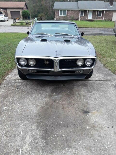 1967 Pontiac Firebird (Gray/Black)