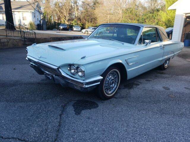 1965 Ford Thunderbird (Blue/Blue)
