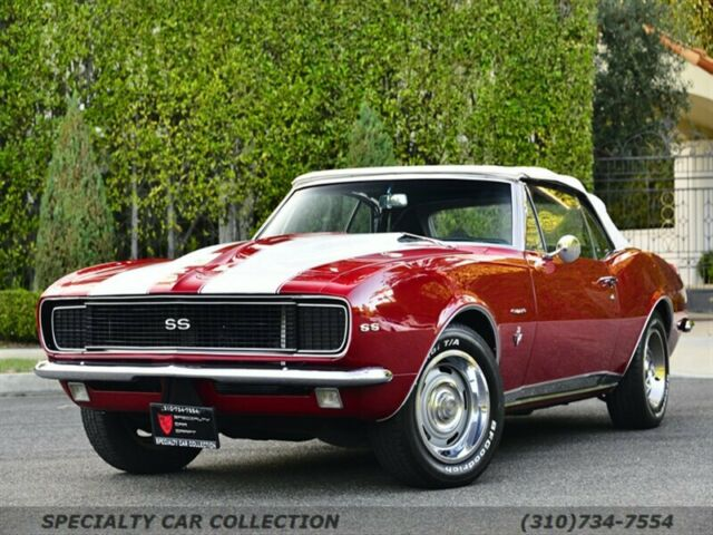 1968 Chevrolet Camaro (Red/Black)