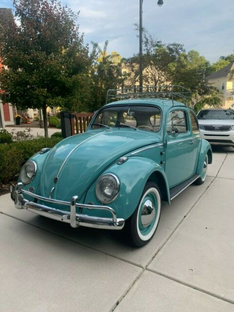 1962 Volkswagen Beetle - Classic (off white/beige/white/brown)