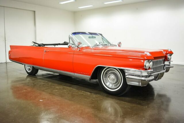 1963 Cadillac Eldorado (Red/White)