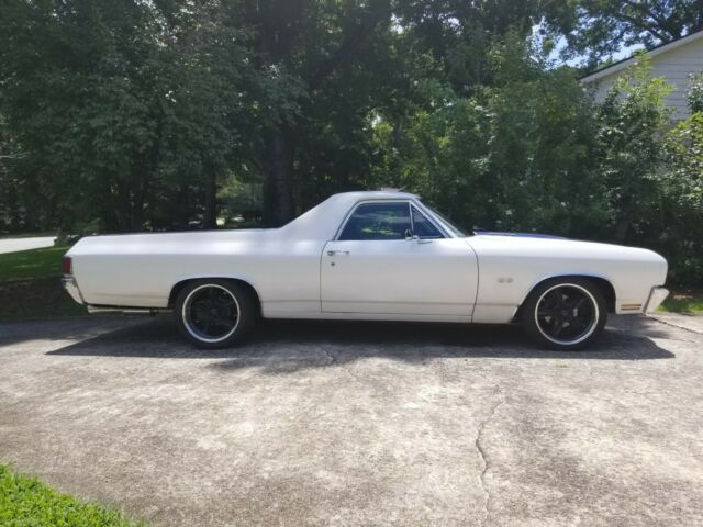 1970 Chevrolet El Camino (White/Black)