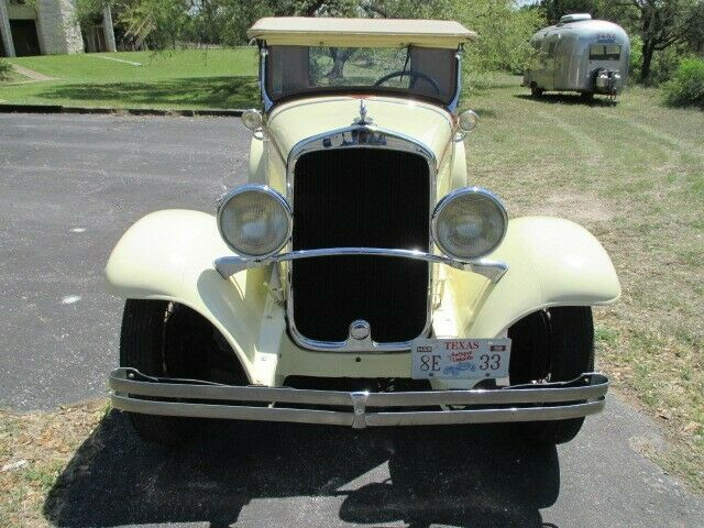 1929 DeSoto Series K (Light Yellow w/ Brown Accents/Brown)
