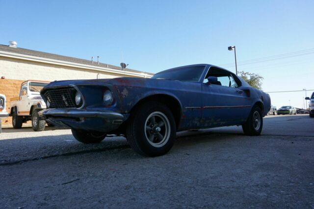 1969 Ford Mustang (Blue/Black)