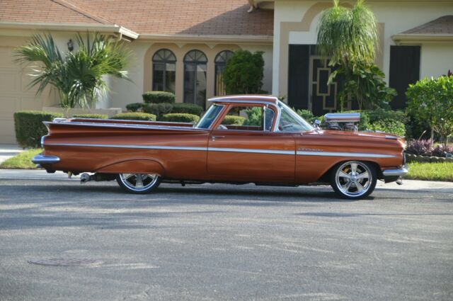 1959 Chevrolet El Camino (Gold/Brown)