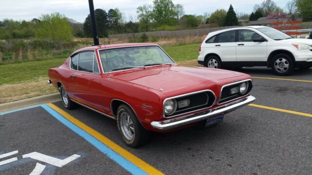 1969 Plymouth Barracuda (Red/Black)