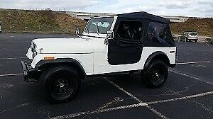 1979 Jeep CJ (Black/--)