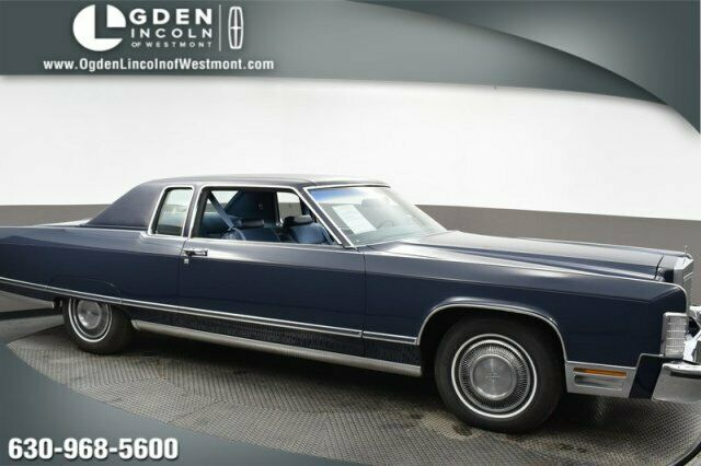 1977 Lincoln CONTINENTAL COUPE (Blue/Blue)