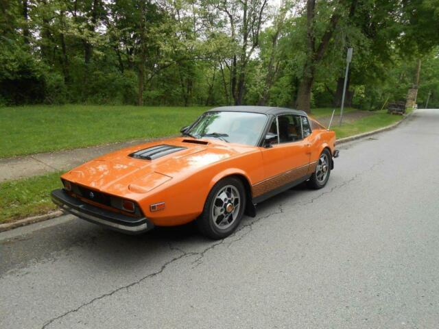 1974 Saab Sonett (Orange/--)