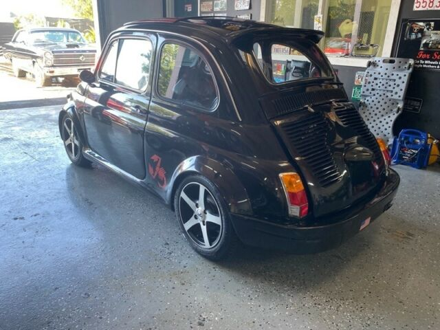 1971 Fiat 500 Abarth (Black/Red)