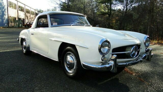 1959 Mercedes-Benz 190-Series (White/Black)