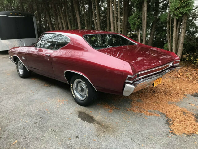 1968 Chevrolet Chevelle (Burgundy/Black)