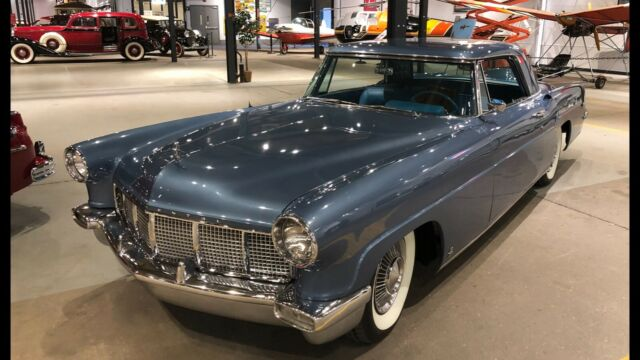 1956 Lincoln Mark Series (medium blue metallic/Two tone Blue leather)