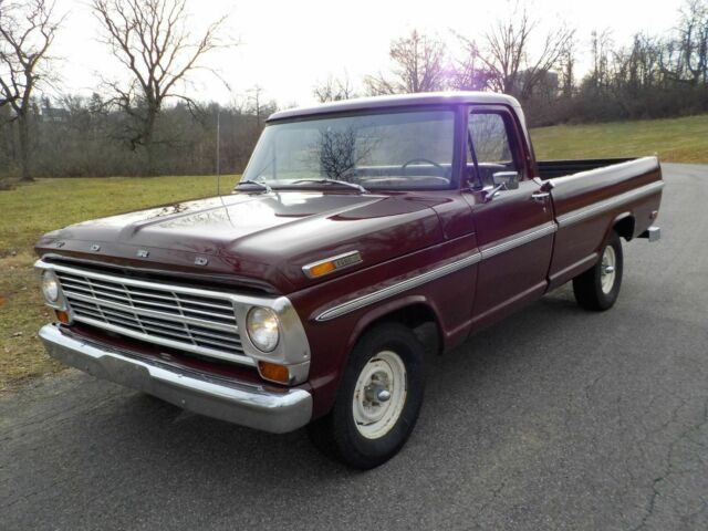 1969 Ford F-150 (Royal Maroon/Maroon)