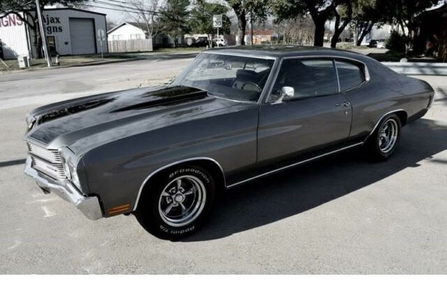 1970 Chevrolet Chevelle (Charcoal/Black)