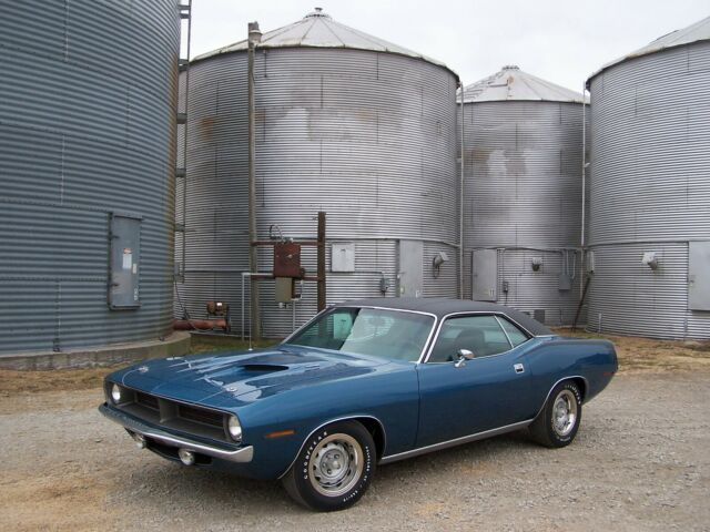 1970 Plymouth Barracuda (Blue/Black)