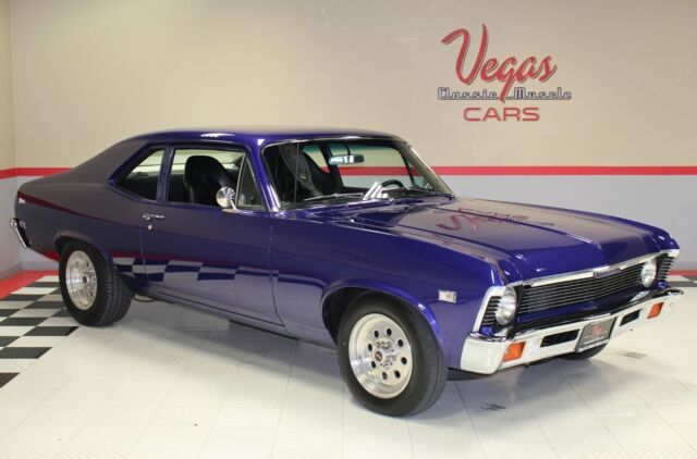 1968 Chevrolet Nova (Purple/Black)