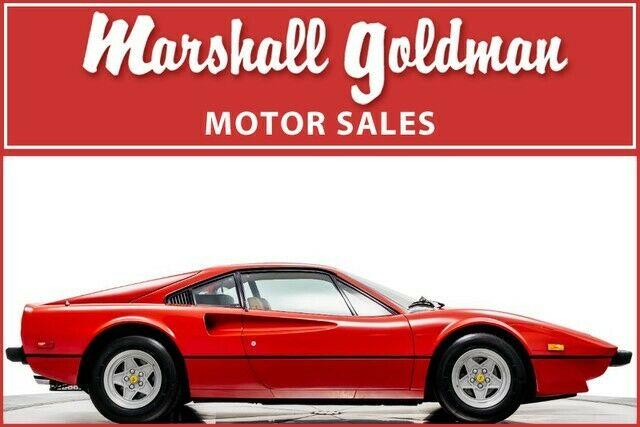 Seller Of Classic Cars 1977 Ferrari 308 Rosso Corsabeige