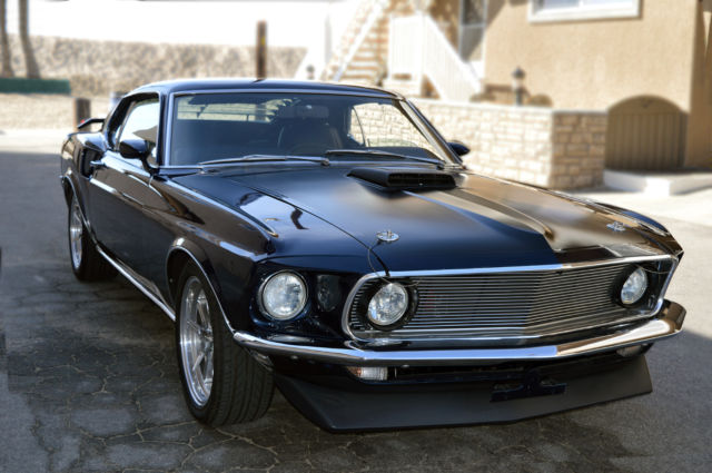 1969 Ford Mustang (DARK BLUE/Black)
