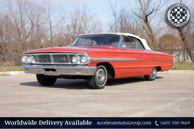 1964 Ford Galaxie (Red/Red)
