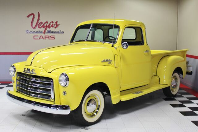 1949 GMC 3100 Pickup (Yellow/Black)