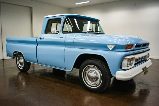 1963 GMC C10 (Blue/Brown)