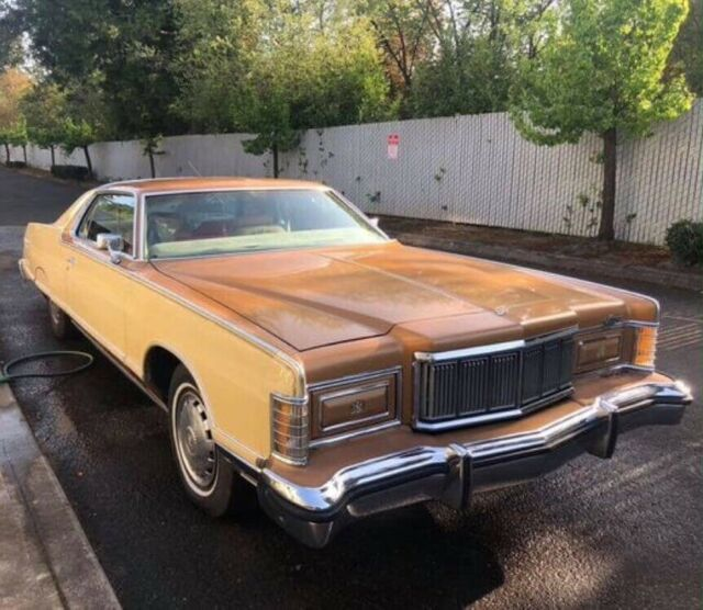 1978 Mercury Grand Marquis (Cream/Tan/Camel)