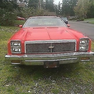 1976 Chevrolet El Camino (Red/Maroon)