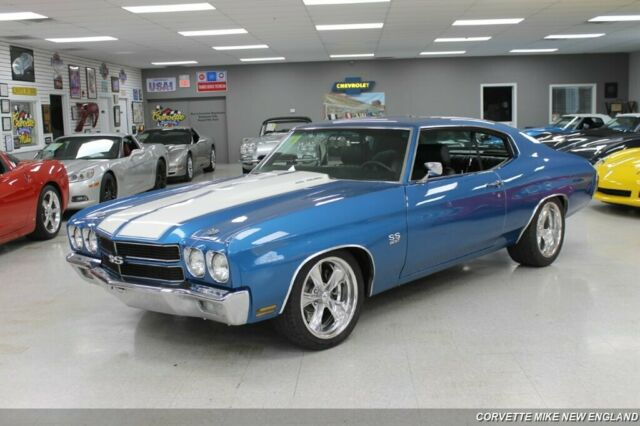 1970 Chevrolet Chevelle (Blue/Black)