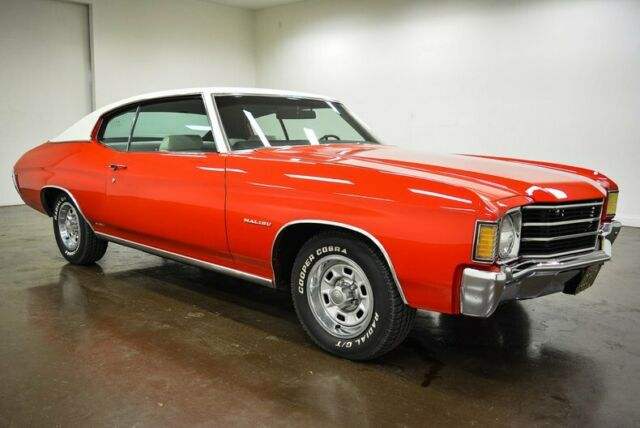 1972 Chevrolet Chevelle (Red/Black)