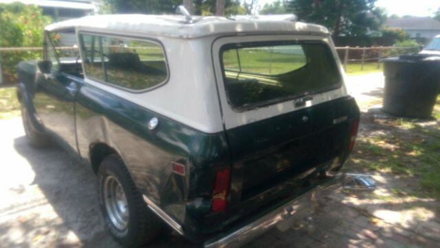 1979 International Harvester Scout (Green/Black)