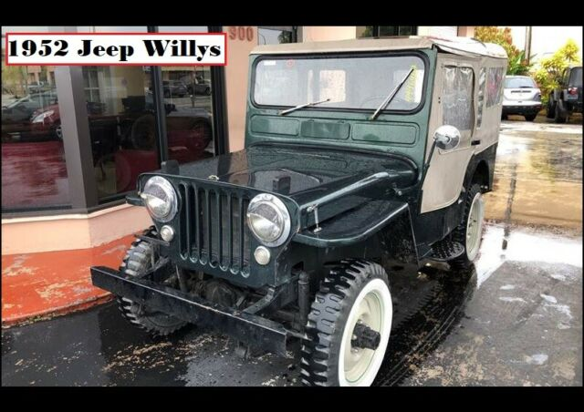 1952 Jeep Willys (Green/Tan)