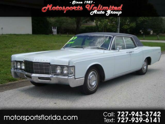 1969 Lincoln Continental (Blue/Blue)