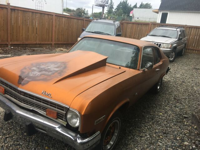 1973 Chevrolet Nova (Copper/Black)