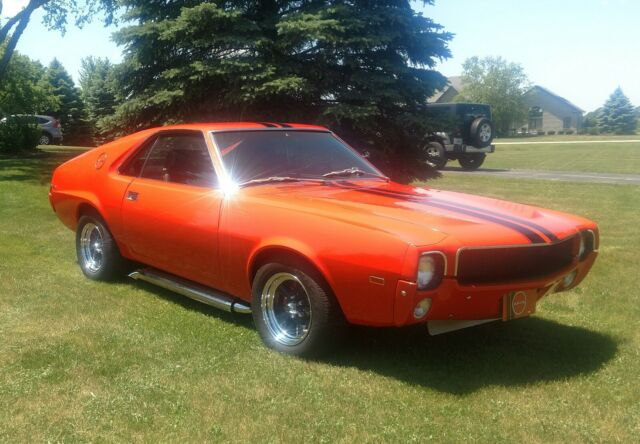 1969 AMC AMX (Orange/Black)