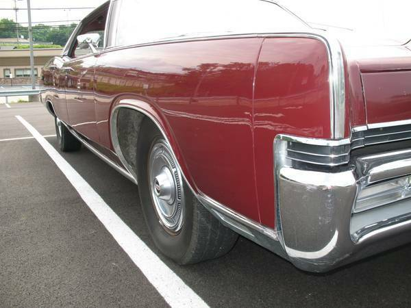 1969 Mercury Grand Marquis (Burgundy/Burgundy)