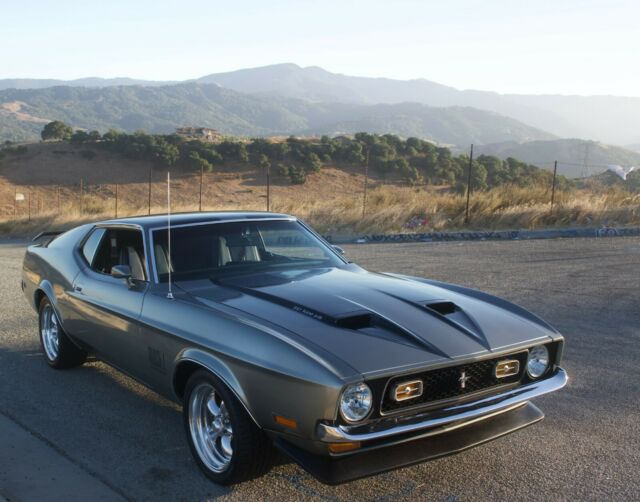 1971 Ford Mustang (Gray/Black)