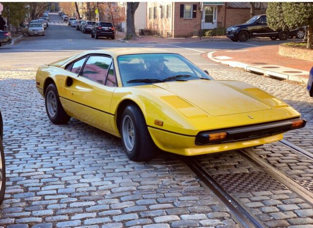 1979 Ferrari 308 (Yellow/Tan)