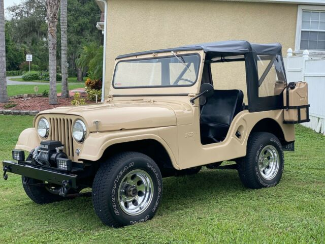 1961 Jeep CJ (Tan/Tan)
