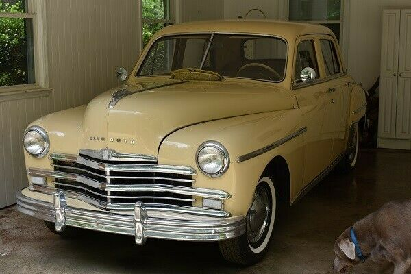 1949 Plymouth Special Deluxe (Beige/Gray)