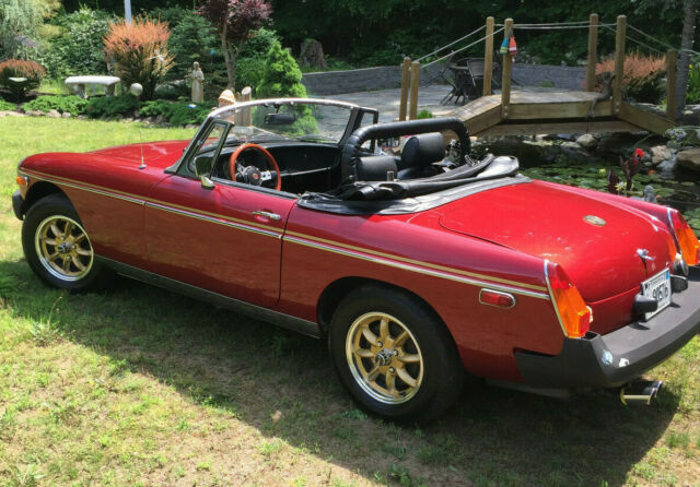 1978 MG MGB (Red/Black)