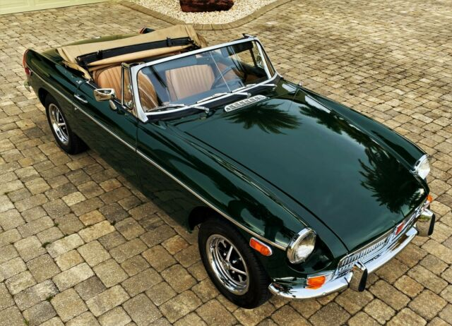 1978 MG MGB (Green/Tan)