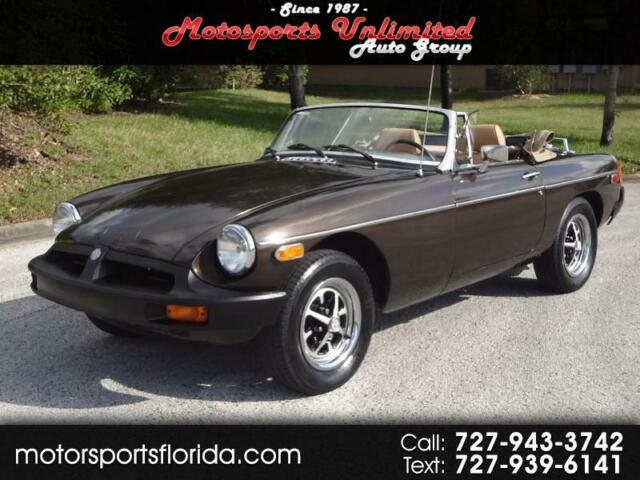 1978 MG MGB (Cocoa Metallic Clearcoat/Saddle Leather)