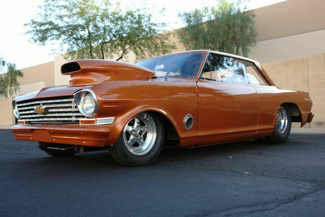 1963 Chevrolet Nova (Orange/Gray)